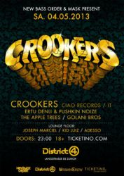 Crookers @ District 4, 2013