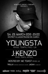 Youngsta & J:Kenzo @ District 4, 2013