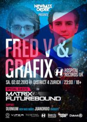 Fred V & Grafix @ District 4, 2013