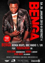 Benga @ District 4, 2013