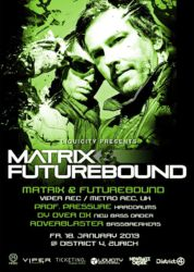 Matrix & Futurebound @ District 4, 2013