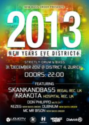 NYE @ District 4, 2012