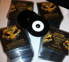 Promo CD Flyers for New Bass Order